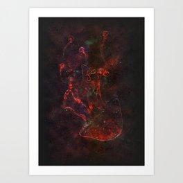 Jellyfish Dust Art Print