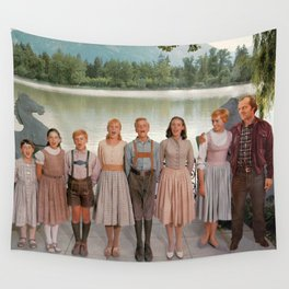 Jack Torrance in The Sound of Music Wall Tapestry