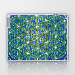 Flower of Life- Ocean Colours Laptop & iPad Skin
