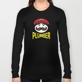 Plumber Potato Chips Long Sleeve T-shirt