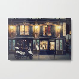 Paris Night I Metal Print