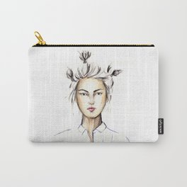 Asian girl Carry-All Pouch
