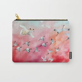 100 Birds in Flight (3) Carry-All Pouch