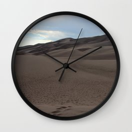 The Great Sand Dunes National Park Wall Clock
