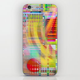 colors squared iPhone Skin