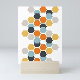 Sam (White) Mini Art Print