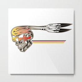 Fire Spiirt Metal Print