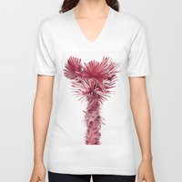 palm V-neck T-shirts featuring PALM by • PASXALY •