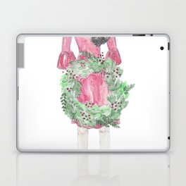 Christmas Wreath Laptop & iPad Skin