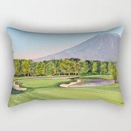Niseko Golf Course Hokkaido Japan Rectangular Pillow