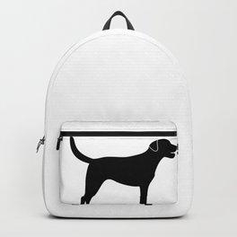 Black Labrador Retriever Silhouette #society6 #decor #buyart #artprint Backpack