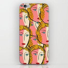 Comics Pop Girl Pattern iPhone Skin