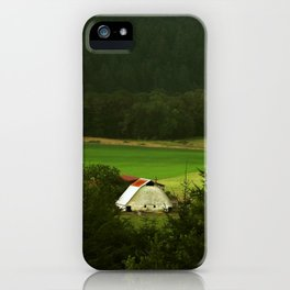 Barn In The Meadow iPhone Case