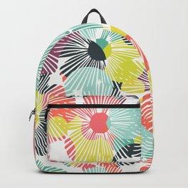 Rainbow bloom Backpack