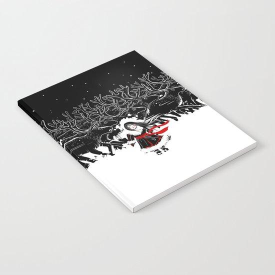 Night of Reindeer Notebook