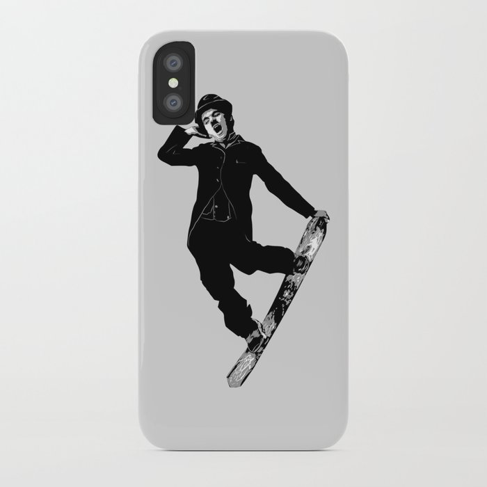 Gnarly Chaplin iPhone Case