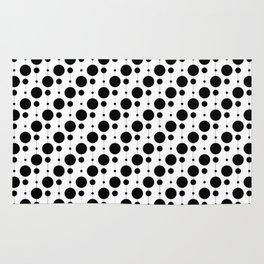 Black Pearls - Baby Stimulation Pattern Rug
