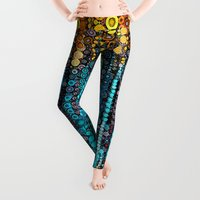 marianna Leggings featuring :: Party On :: by :: GaleStorm Artworks ::