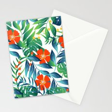 TROPICAL PARADISE 4 Stationery Cards
