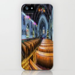 Church at Christmas iPhone Case