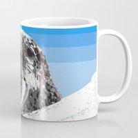 walrus Mugs featuring Walrus by wingnang