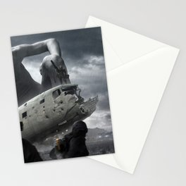 Railgun Wars Stationery Cards