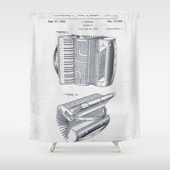 Accordion Shower Curtain By Ricardocastillo