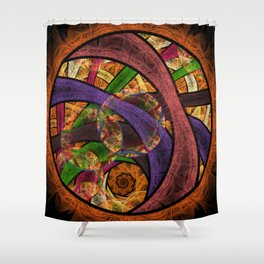Circle Jerk Shower Curtain