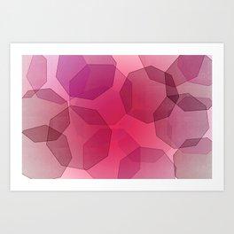 Octa-bokeh. Art Print