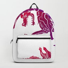 Sorry my dragon ate your unicorn Fantasy Gamer Gift Backpack