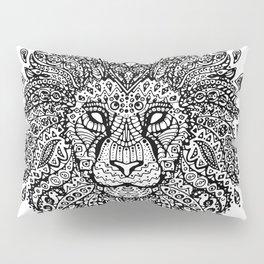 Lion Mandala Pillow Sham