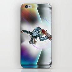 Skateboarder iPhone & iPod Skin