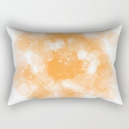 Super Orange Rectangular Pillow