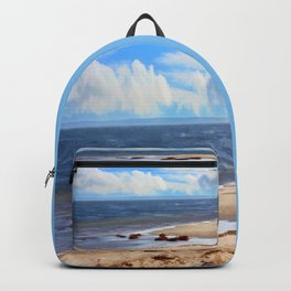 On A Clear Day - Painterly Backpack