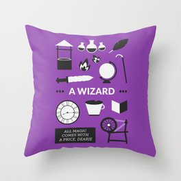 OUAT - A Wizard Throw Pillow