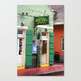 New Orleans - Bourbon Street 2004 Canvas Print