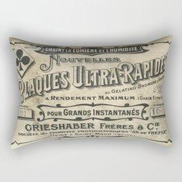 Plaques Ultra Rapides Rectangular Pillow