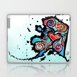 Alaska Love Laptop & iPad Skin