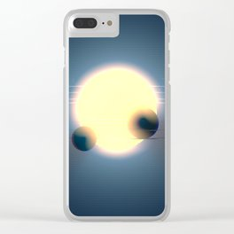 sector space Clear iPhone Case