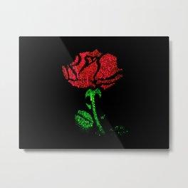 Rose Colored Metal Print