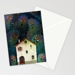 The little monsters Stationery Cards