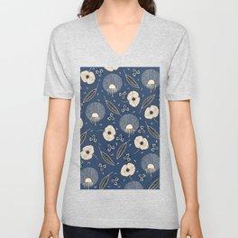 Dandelion Spring Unisex V-Neck