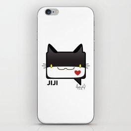 Convo Cats! Jiji iPhone Skin