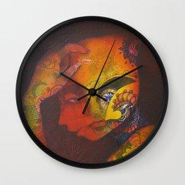 Estudio de un rostro Wall Clock