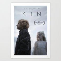 KIN poster #2 Art Print