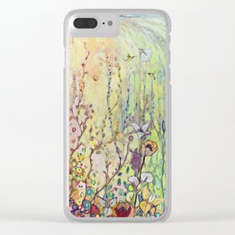 Crossing Over Clear iPhone Case