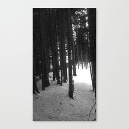 Poster tree Canvas Print