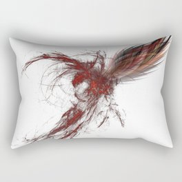Fractal Phoenix Rectangular Pillow