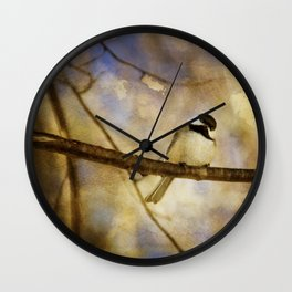 Little Poser Wall Clock