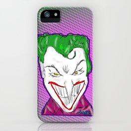 Joker Sketch  iPhone Case